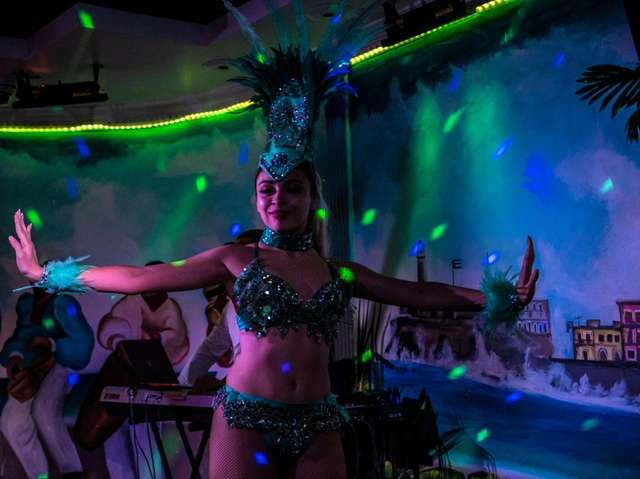 Tropicana show and dinner at The Cuban in