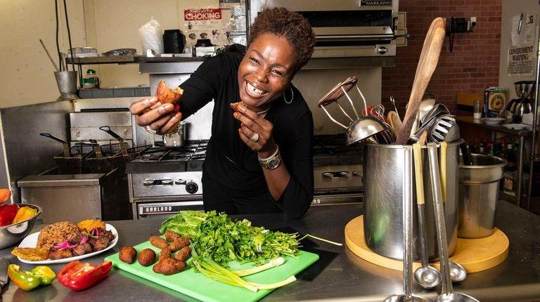 Gingerbites owner Marie Michele Destil.