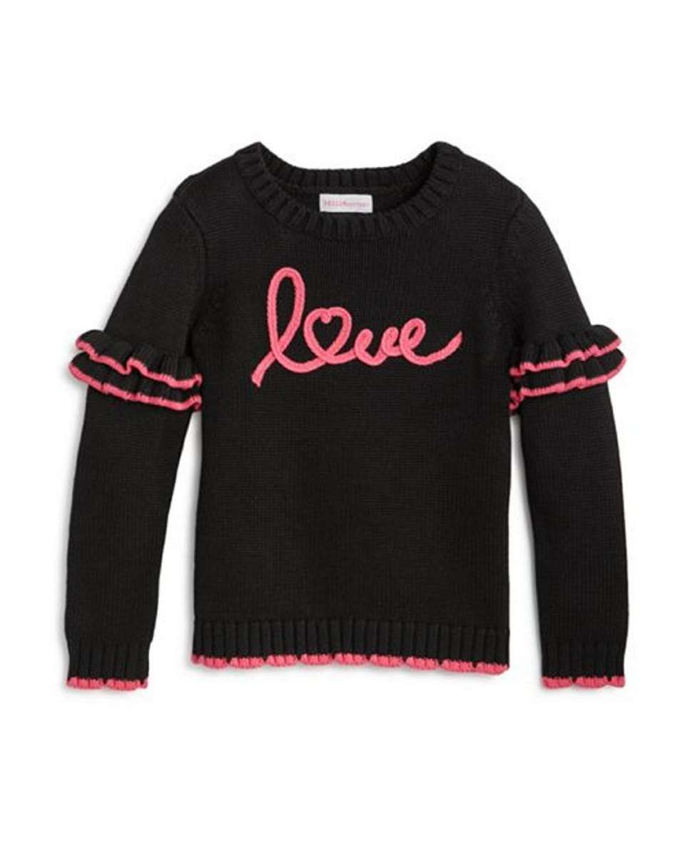 Perfect for Valentine's Day, this sweater features long