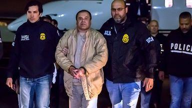 """Joaquin  """"El Chapo"""" Guzman Loera arrives Jan."""