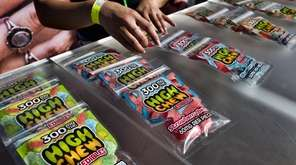 Marijuana-infused candy for sale at the cannabis-themed