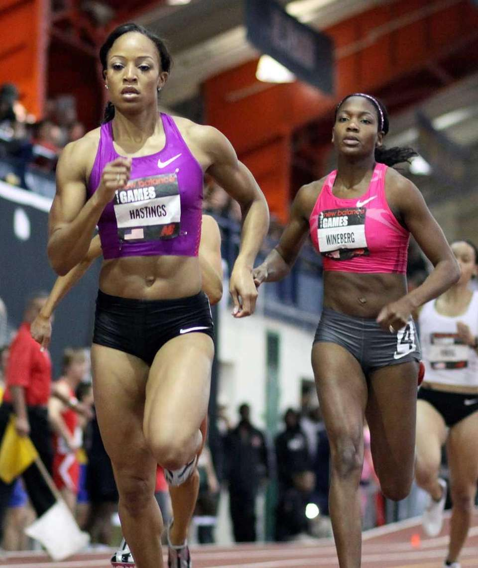 New York's Natasha Hastings takes first in the