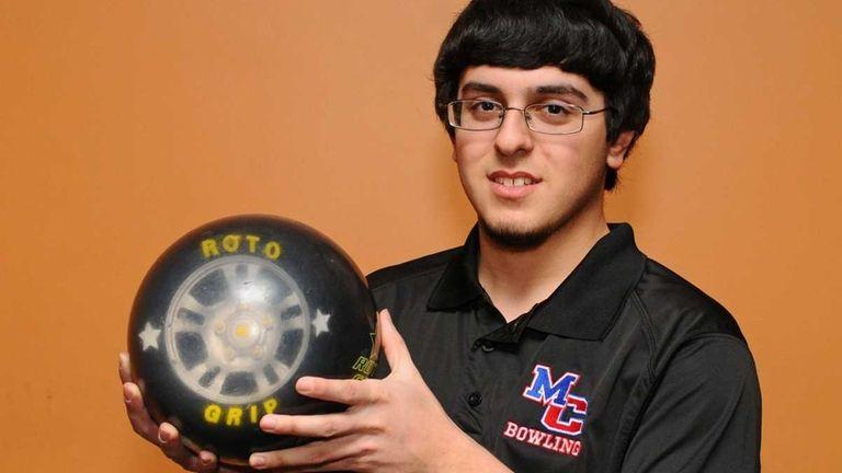 Robert Pepe, a senior at Newfield North High