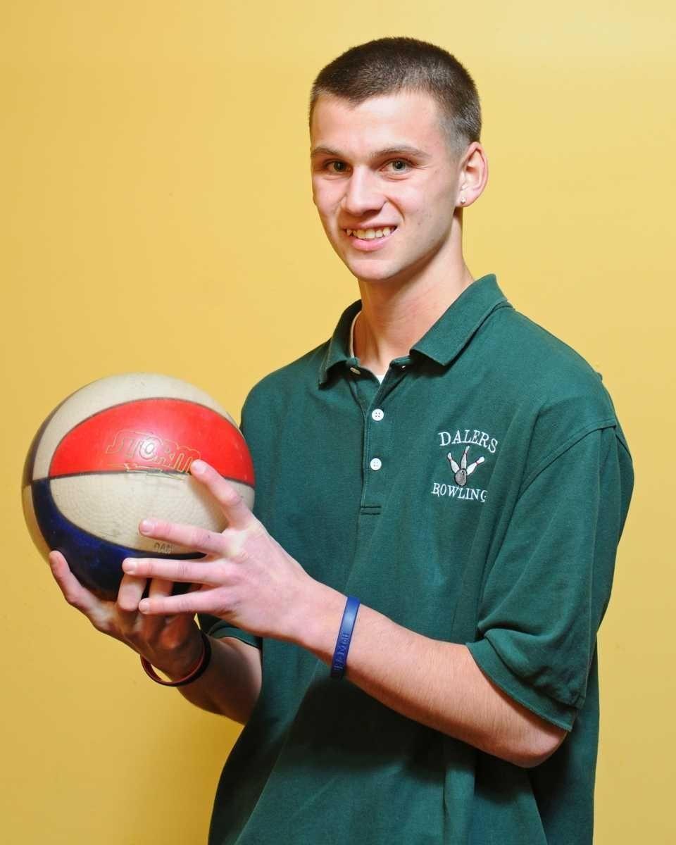 Steven Harris, a senior at Farmingdale High School