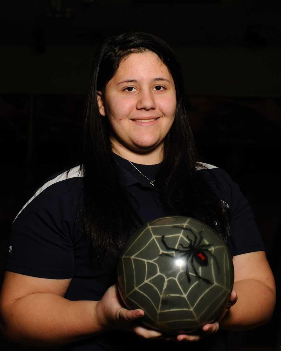Victoria Bontempo, a varsity girls bowler from Smithtown