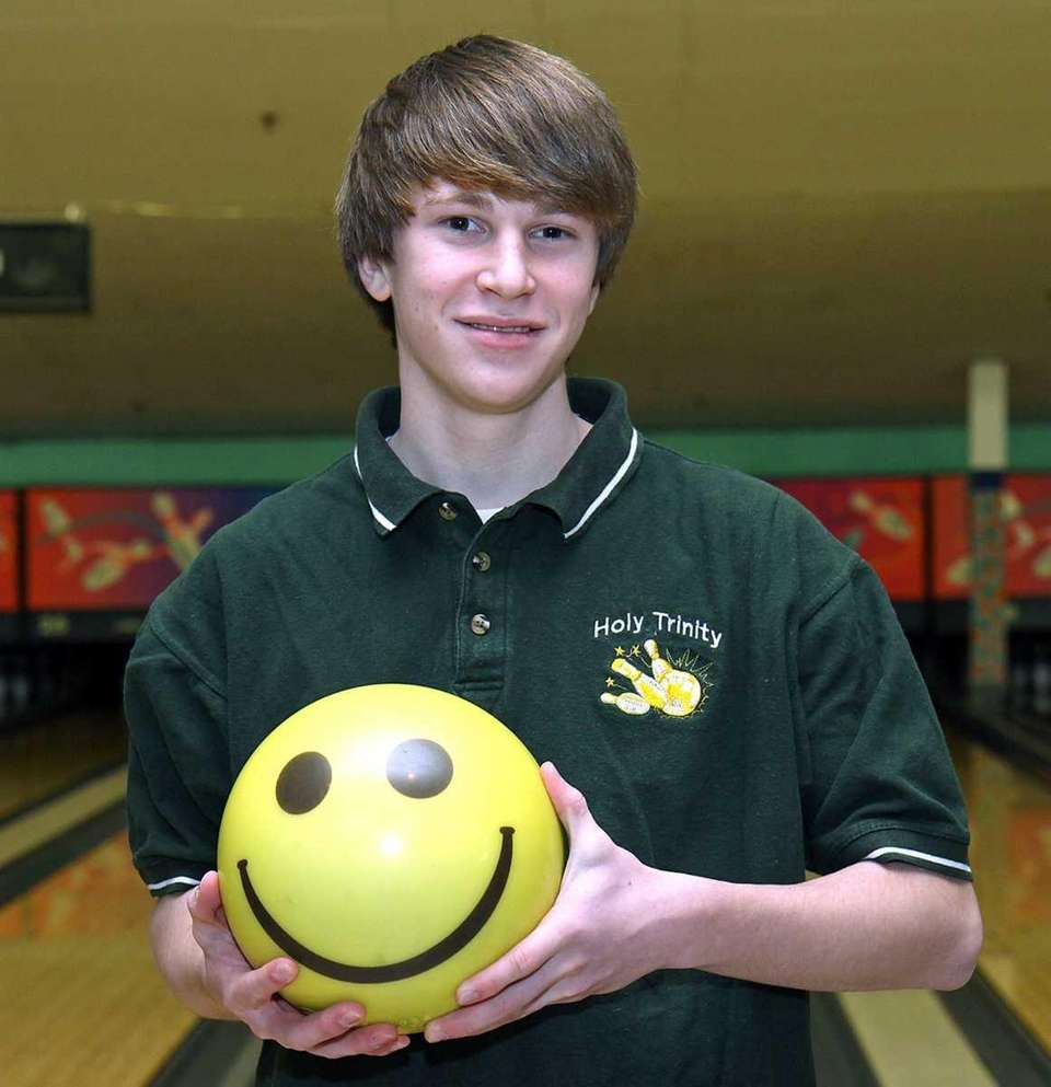 Levittown - January 21, 2011: Holy Trinity bowler