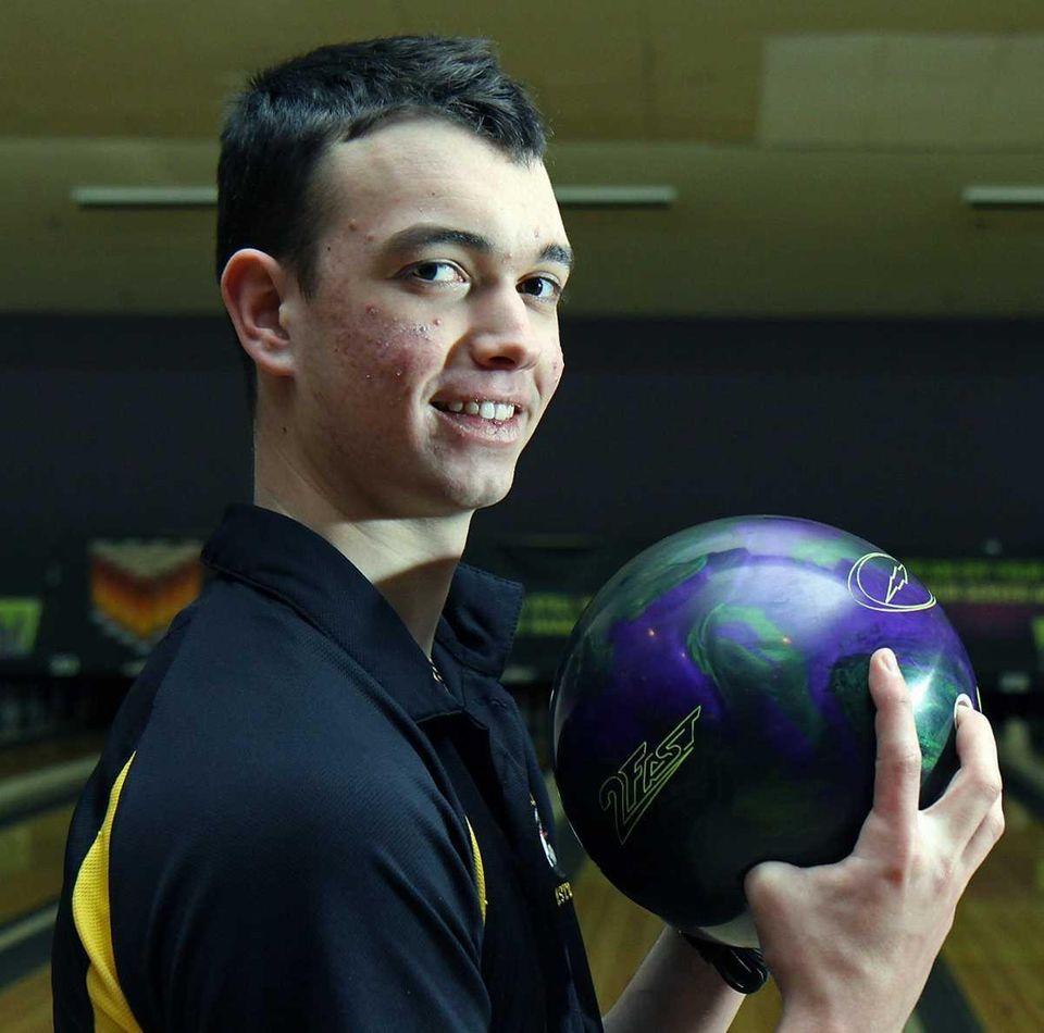 Sewanhaka District High School bowler Tommy Genova owner