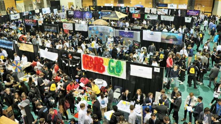 Nearly 2,000 students competed earlier this month in