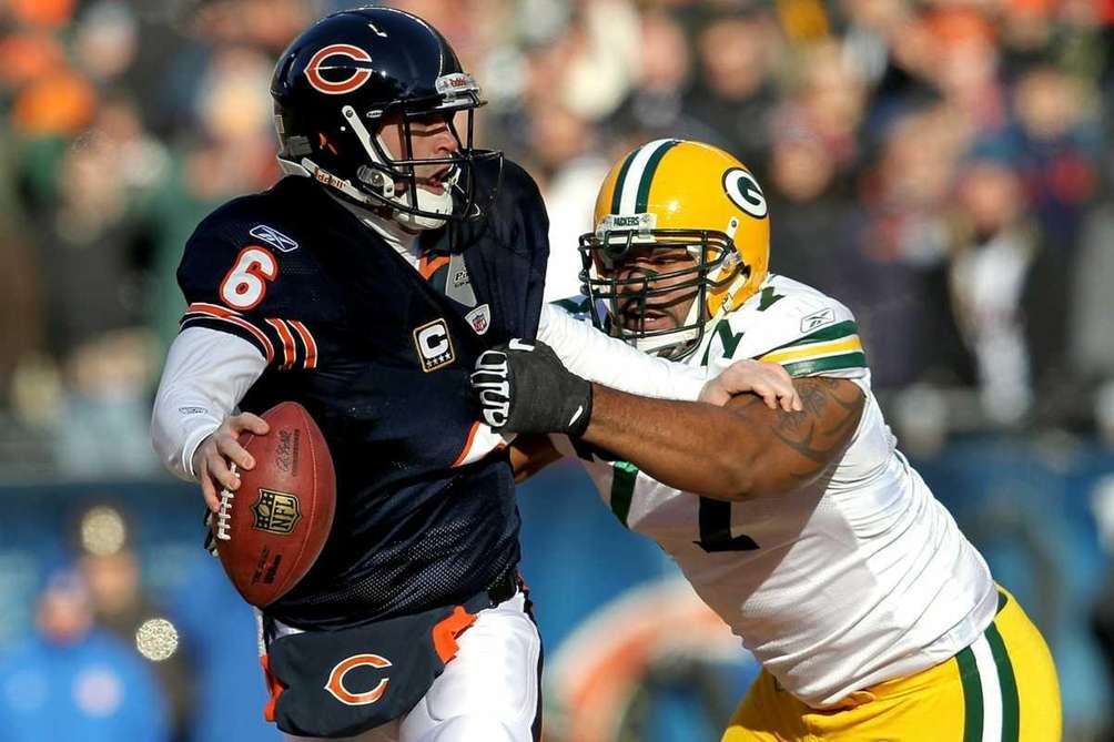 Quarterback Jay Cutler #6 of the Chicago Bears