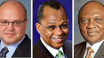 Dr. Philip Schrank, Calvin O. Butts III and