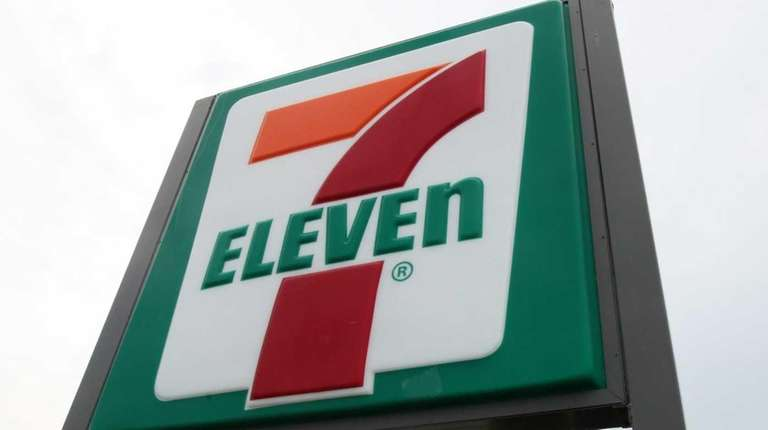 The 7-Eleven logo is seen in this photo