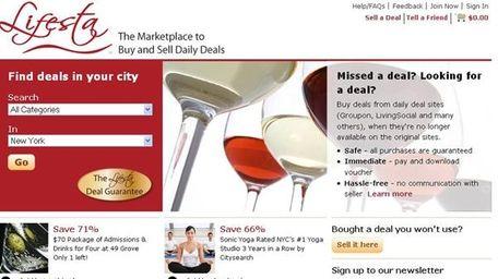 Lifesta.com screen shot