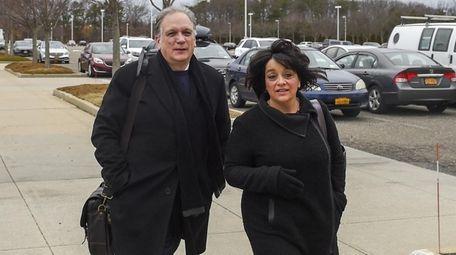 Former Nassau County Executive Edward and Linda Mangano