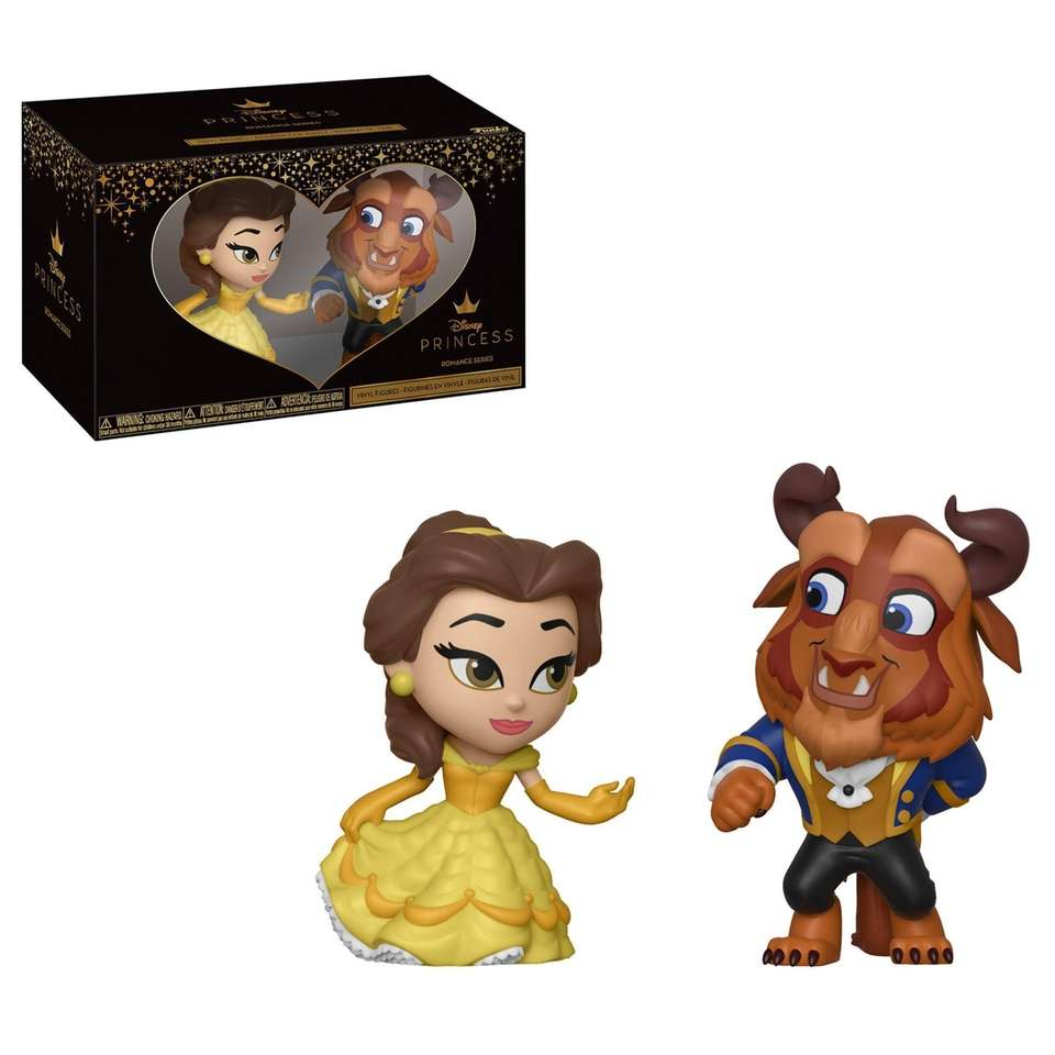 This two-pack features 2.5-inch tall figures of Belle