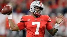 Ohio State quarterback Dwayne Haskins in the Big