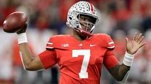 Ohio State quarterback Dwayne Haskins in the Big