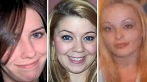 Maureen Brainard-Barnes, left, Megan Waterman and Melissa Barthelemy,