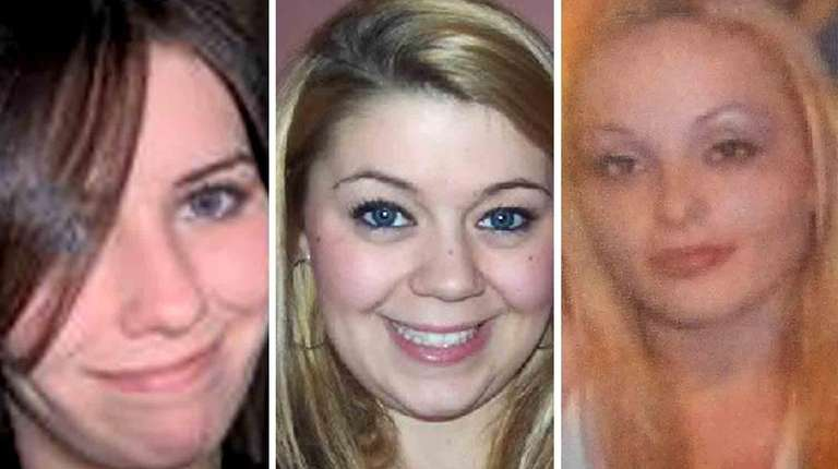 Maureen Brainard-Barnes, left, Megan Waterman and Melissa Barthelemy,