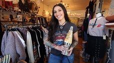 Mackenzie Keyes, owner of Wildflower gift shop in