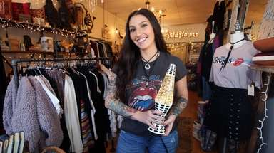 Mackenzie Keyes, owner of Wildflower gift shop in