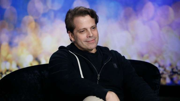 Anthony Scaramucci appears on CBS'