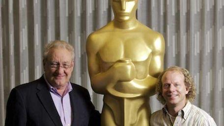 Academy Awards telecast producers Don Mischer, left, Bruce