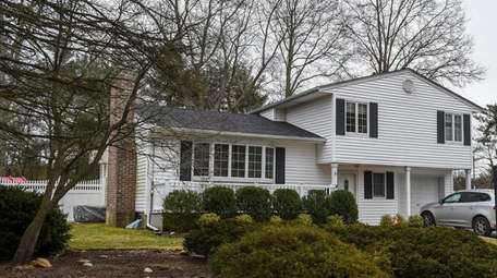 A home for sale in Melville, seen Wednesday.