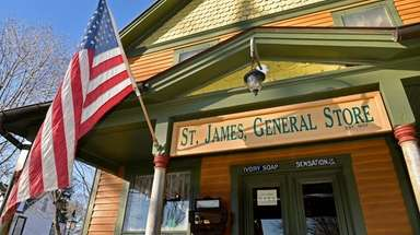 The St. James General Store in St. James