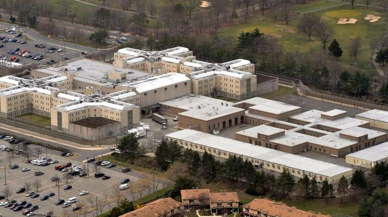 The Nassau County jail in East Meadow is