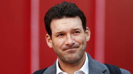 TV personality and former NFL player Tony Romo