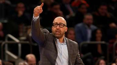Head coach David Fizdale of the New York