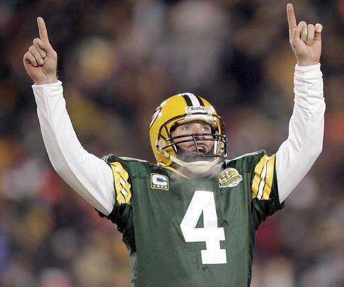 BRETT FAVRE For 16 seasons and 442 touchdown
