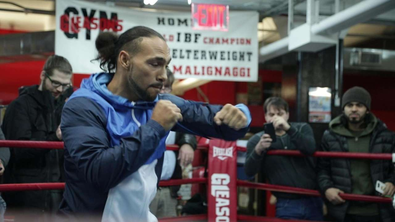On Wednesday at Gleason's Gym in Brooklyn, undefeated