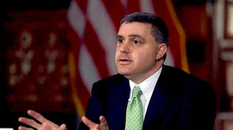 New York State AFL-CIO president Mario Cilento, shown