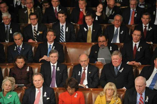 During the State of the Union in Washington,