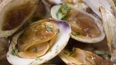 Clams, a symbol of prosperity in Chinese cooking,