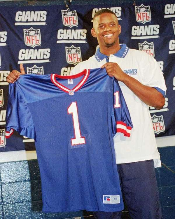 1997: IKE HILLIARD, Wide receiver, Florida Drafted: First