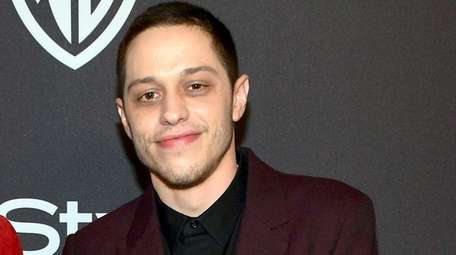 Pete Davidson attends the 2019 InStyle and Warner