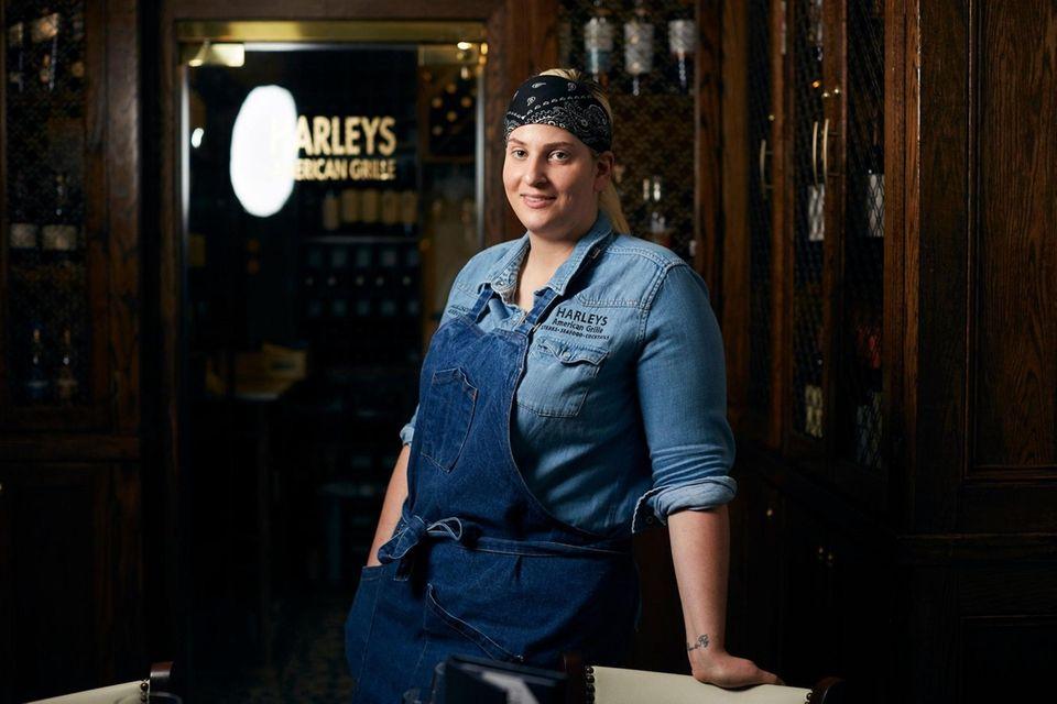 Executive Chef Allison Fasano, Harleys American Grille, Farmingdale,