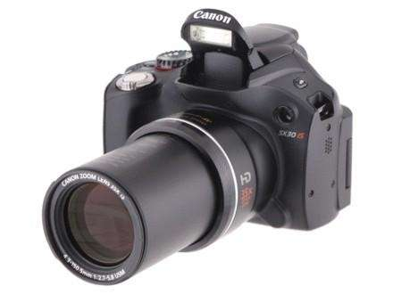 Canon PowerShot SX30 IS CNET rating: 3.5 stars