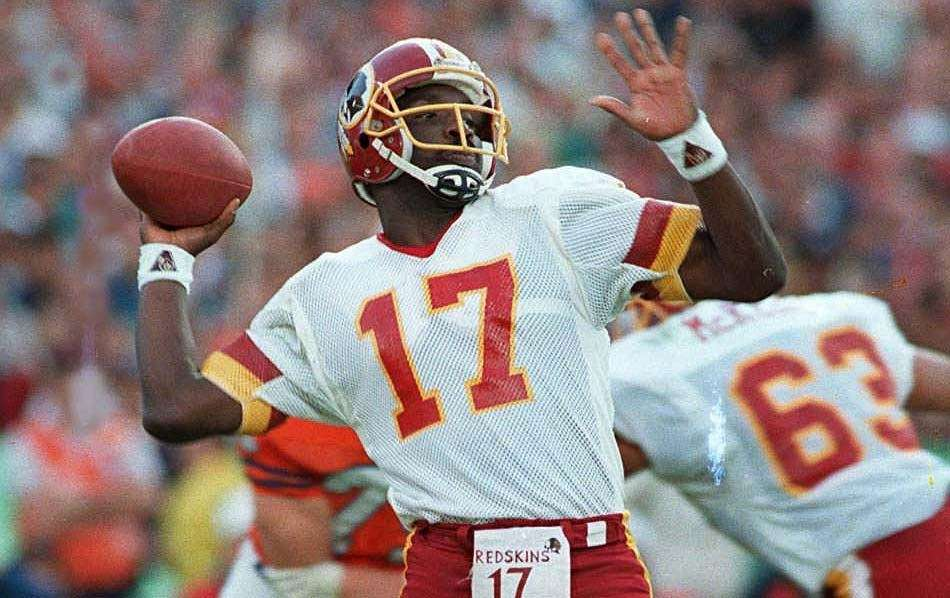 DOUG WILLIAMS, Washington Redskins Super Bowls won: Super