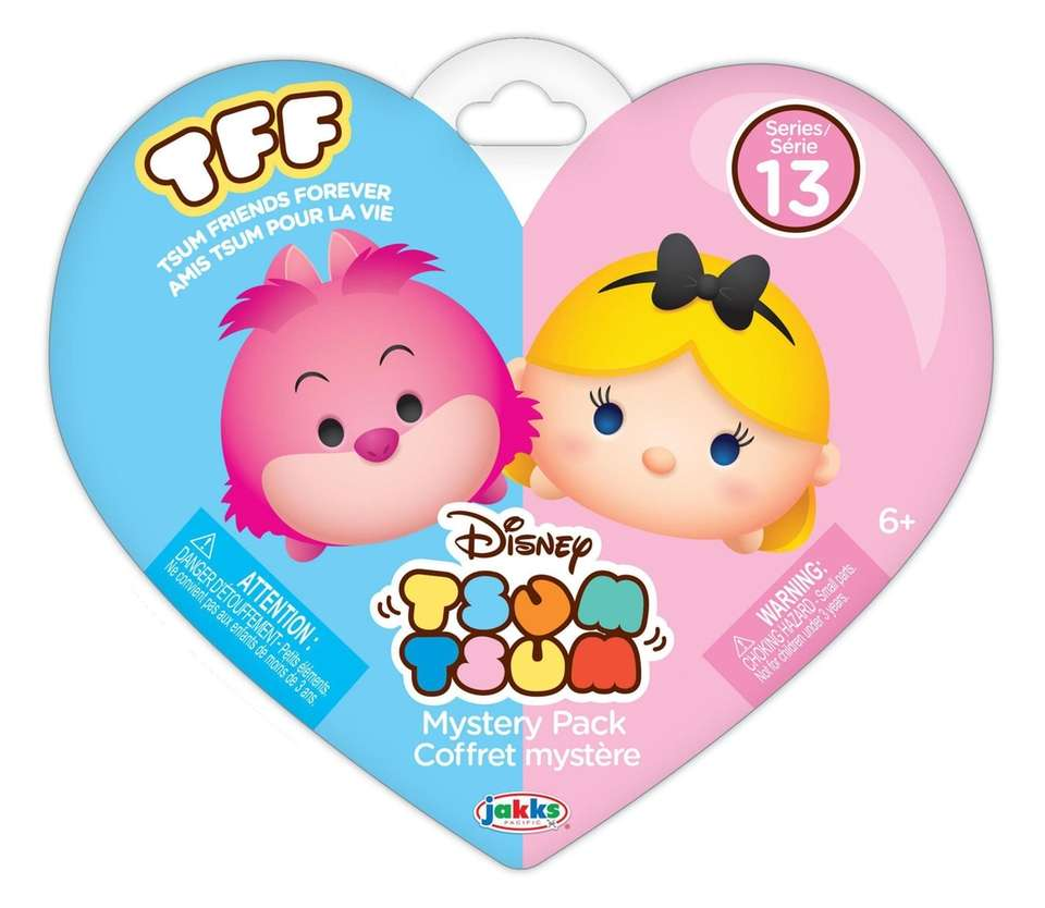 The Tsum Friends Forever collection comes in heart-shaped