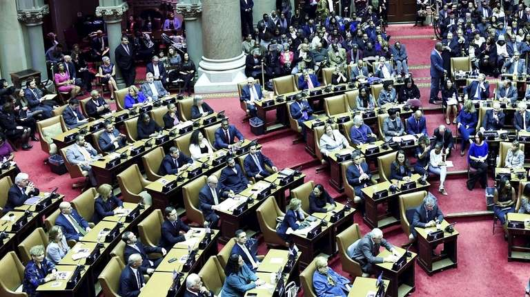 The Assembly on the opening day of the