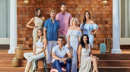 "The cast of Bravo's ""Summer House"" season 3."