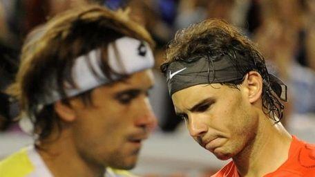 David Ferrer and Rafael Nadal