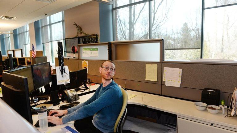 Robby Stevens of Woodside is data center manager