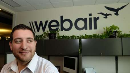 Michael Ohayon, chief operating officer of Webair, says