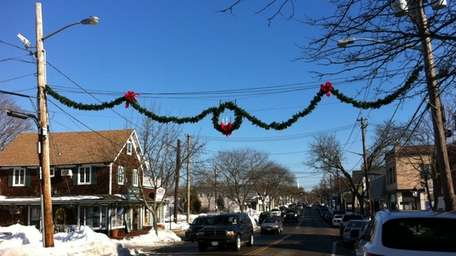 Main Street in Center Moriches. (Dec. 30, 2010)