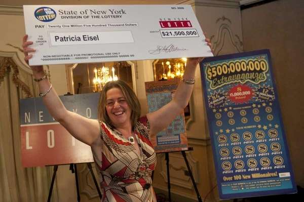 Long Island Lotto winner Patricia Eisel of Long