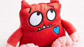 Pair this adorable red monster with the